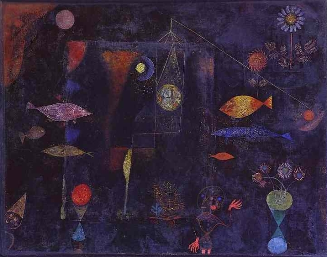 'Fish Magic', by Paul Klee, 1925