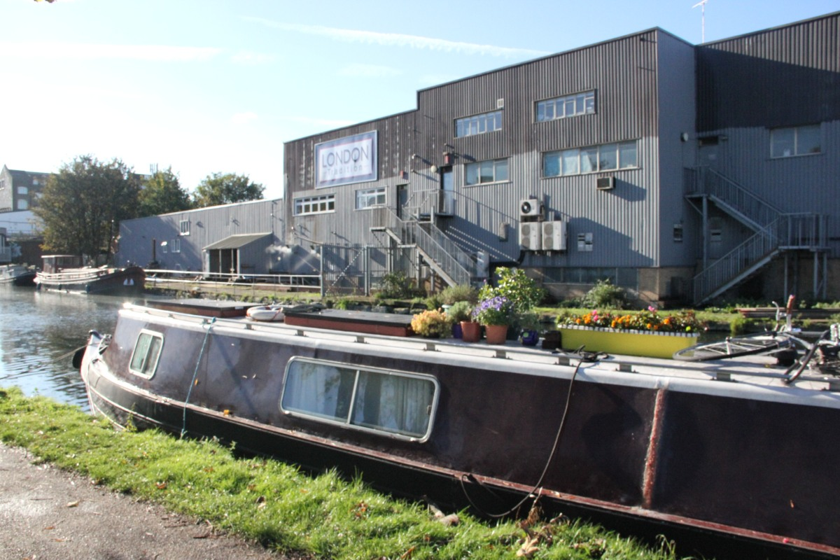 Moored in Hackney Wick