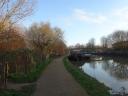 Stoke Newington towpath